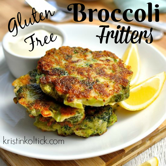 Gluten Free Broccoli Fritters