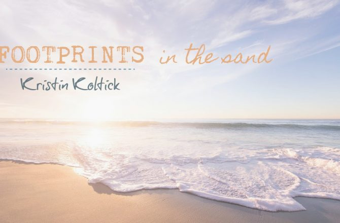 Footprints in the Sand – Observations by the Sea