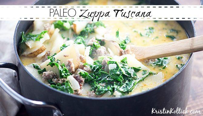 Paleo Zuppa Tuscana
