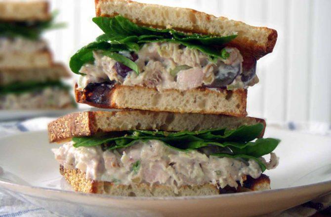 Clean & Easy Chicken Salad