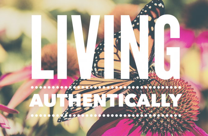 Authenticity is the Key to Happiness.