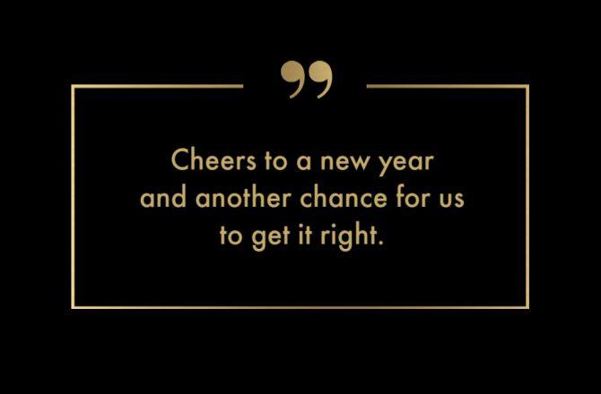 Cheers to a peaceful, powerful & purposeful 2019!